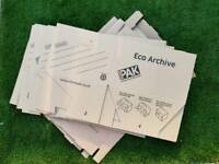 Free: used archive boxes