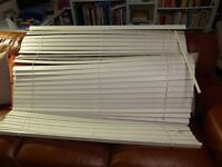 Free Ikea White Wooden Venetian Blind - 120cm Wide. Collection from Langbank