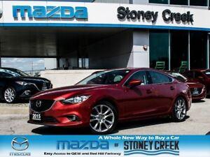2015 Mazda MAZDA6 GT AUTO TECH,BOSE+LTHR+NAV, NEW BRKS,ACC FREE!