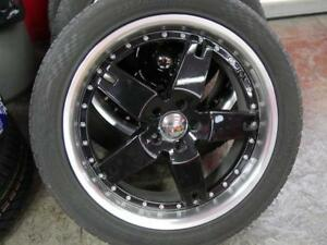 19 INCH USED RIM & TIRE PACKAGE 5X108 - GREAT CONDITION