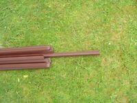 10mm Brown Polycarbonate Sheet Closures 2.1mtr Long
