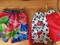 Boys Clothes/Swim shorts aged 5-6 Years Price in text