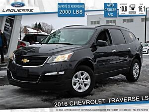 2016 Chevrolet Traverse **LS*AWD*7 PASSAGERS*CRUISE*A/C**