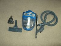 vax 2000 watt pet C90-VC-P-A bagless vacuum cleaner,in very good clean condition