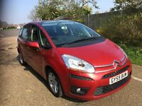 2010 CITROEN C4 PICASSO 1.6 HDI DIESEL AUTOMATIC 73 000 MILES 1 OWNER