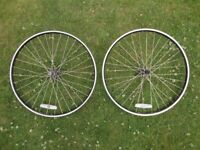Alex rims HR bike wheels 26 inch 559 x 18, 6061- t6 Double wall, front and rear