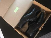 Boys leather shoes from Next size 4.