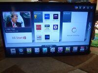LG 47 INCH SMART CINEMA 3D LED TV (47LM620T)
