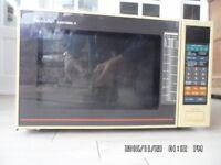 Sharp 'Carousel II' microwave (600 W?)