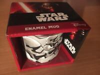 Star Wars Enamel Storm Trooper mug Boxed