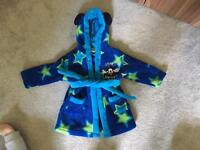 Boys 6/9 Month dressing gown
