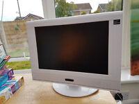 """Technika LCD 19"""" TV in White"""