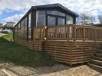 Luxury Swift Champagne for sale at St Audries Bay Holiday Park, Somerset, 40' x 13' 2 bedroom model