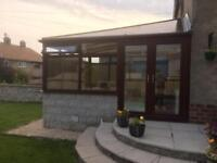 Conservatory to be dismantled PVCU