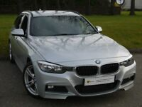 £0 DEPOSIT FINANCE (14)BMW 3 Series 2.0 320d M Sport Touring (s/s) 5dr **NEW SHAPE** FBMWSH* AA WARR