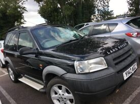 XX COOL WINTER 4X4 LANDROVER FREELANDER 2001 IMMACULATE LEATHER INTERIOR 8MONTHS MOT ONLY £975