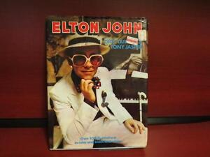 Elton John by Dick Tatham, Tony Jasper 1976 hardcover