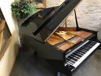 Stunning Gloss Black Petrof Grand Piano & Adjustable Stool - CAN DELIVER