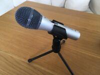 AUDIO TECHNICA Microphone - ATR2100-USB Cardioid Dynamic USB/XLR Microphone