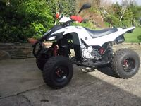 Road Legal 400 Quad Drive On Car License 1100 Miles