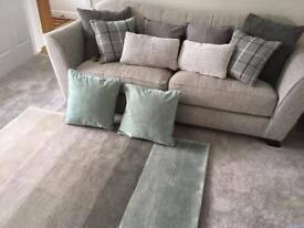 cushion curtain bundle