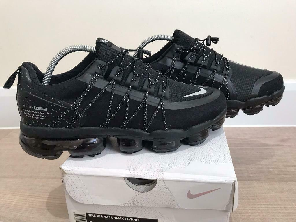 outlet store sale 9e4d1 80d4e Nike Air Vapormax Run Utility Black - UK size 9 | in Reading, Berkshire |  Gumtree