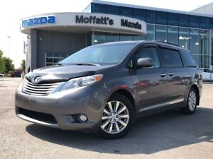 2011 Toyota Sienna LIMITED AWD, LEATHER, DVD, SUNROOF