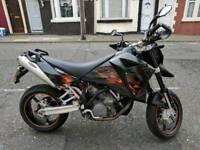 KTM 950 SM Supermoto motorbike