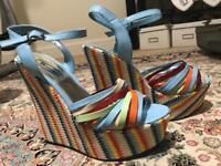 Size 6 wedge heels