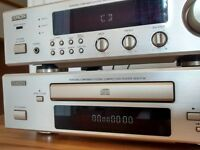 Denon Amp Tuner and CD player - DCD F100/DRA F 100 Combo