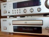 Denon Amp Tuner and CD player - DCD F100/DRA F 100 Combo