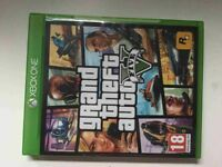 XBox one game GTA 5 ,rarely used