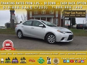 2014 Toyota Corolla LE-$56/Wk-CleanCarproof-RearCam-HtdSts-Bluet