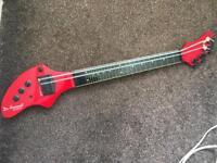 Ashbory Bass Fretless Electric Bass Ukulele