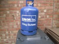 full 15 kg calor gas bottle