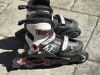 Pair of Oxelo In Line Skates – 36-38 in Size