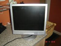 Flat screen computer monitor