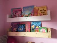 Reclaimed Wooden Book Shelf/Storage