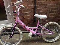 girls professional Izzie bike