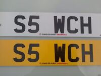 Cherished Registration S5 WCH