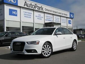 2014 Audi A4 2.0T Sedan quattro Tiptronic| Sunroof| Heated seat