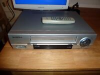 VHS video Player with remote control