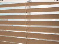 2 x Wooden Venetian Blinds