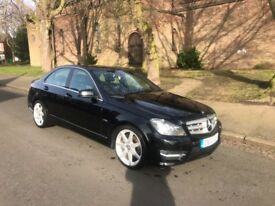 Mercedes-Benz C Class C200 Sport 2.1 CDI BlueEfficiency 136BHP....Saloon, 2012 (12 Plate)