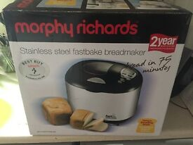 Morphy Richards Fastbake Breadmaker (in 75 mins)