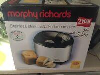 Morphy Richards Fastbake Breadmaker (in 75 mins)