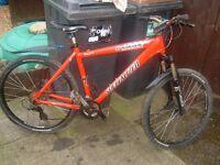Hardrock Sport Specialized Gents Bike