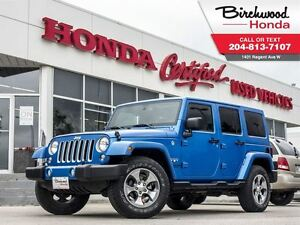 2016 Jeep WRANGLER UNLIMITED Sahara With Purchase.. Free kayak