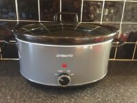 Large slowcooker 6.5 litre capacity & George Foreman Indoor Grill