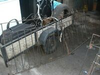 WROUGHT IRON DRIVE GATES WITH SINGLE GATE